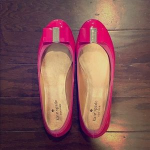 Kate spade hot pink shoes size 7